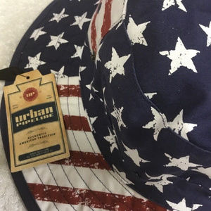 d20a48ab6 Stars and Stripes Boonie Bucket Hat Urban PiPELINE NWT